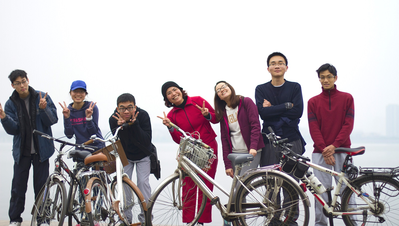 Saturday Cycling with a lot of fun and laugh