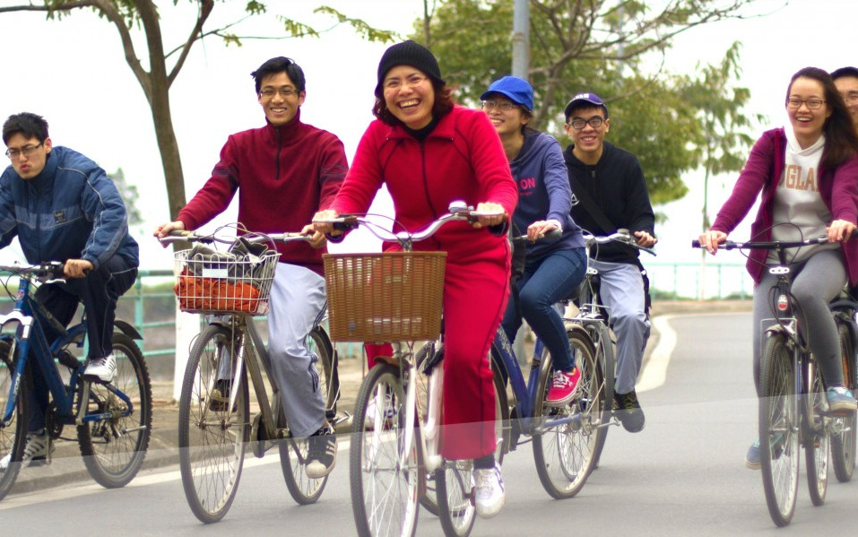 Cycling and the ambition to promote physical activity in Vietnam