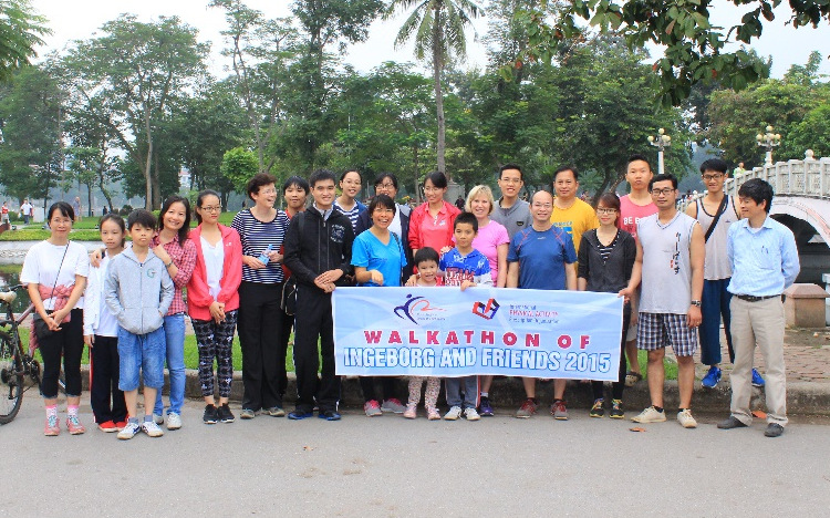 Walkathon – Tiring but exciting!